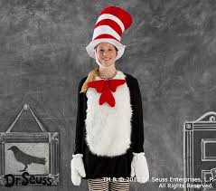 Halloween Costumes Pottery Barn Dr Seuss U0027s Cat In The Hat Halloween Costume Small