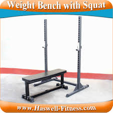 multifunction squat stands olimpic weight bench press with half