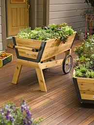 Diy Railing Planter Box by Rolling Elevated Planter Box U Garden Raised Planter Gardeners
