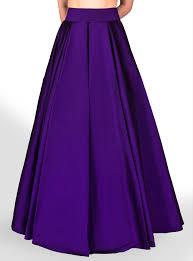 silk skirt purple silk pouffy skirt masala chai dubai