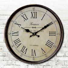 Large Shabby Chic Wall Clock wall clock wooden promotion shop for promotional wall clock wooden