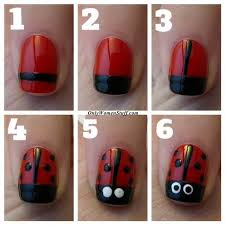 20 easy nail designs for kids to do at home step by step pictures