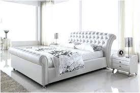 White Metal Kingsize Bed Frame King Bed Frame White Uforia