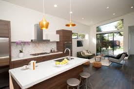 interior amazing pendant lighting with tile backsplash and round