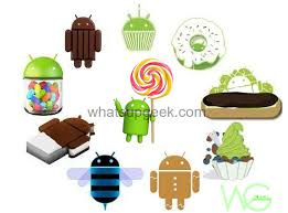 list of android versions all about android os andorid versions