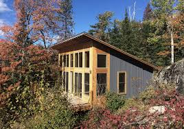 one room cabin on burntside lake embraces minnesota u0027s deep woods