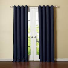 Drapes Grommet Top How To Have The Navy Curtains For Your Place Home And Textiles