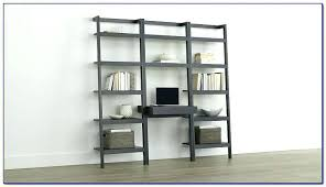 ikea leaning bookcase leaning ladder shelf target ladder shelf