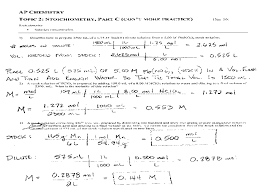 Stoichiometry Practice Worksheet Answer Key Printables Chemistry Worksheet Whelper Worksheets Printables