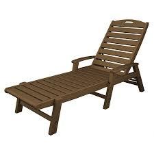 Outdoor Chaise Lounge Chair Shop Trex Outdoor Furniture Yacht Club Tree House Plastic Patio