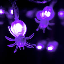 purple led halloween lights popular spider string lights buy cheap spider string lights lots