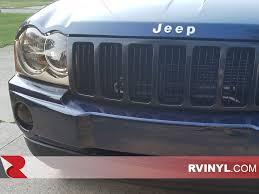 light blue jeep grand cherokee rtint jeep grand cherokee 2005 2007 headlight tint film