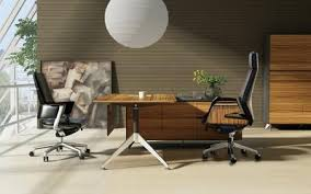 L Shaped Executive Desk Modern Zebrano Wood L Shaped Executive Desk With Storage