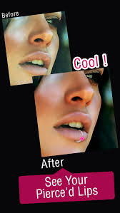 lip rings images App shopper lip piercing booth pro try hd lip rings for your jpeg