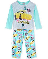 disney 2 pc cars pajama set toddler 2t 5t pajamas