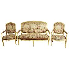 19th century sofa styles louis suite 19th century rococo settee and 4 armchairs gilded
