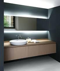 led illuminated bathroom mirror cabinet shaver demister sensor