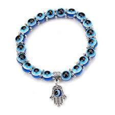 evil eye charm bracelet images Handmade evil eye glass beads hamsa charm bracelet project yourself jpg
