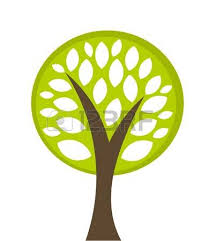 tree of vector illustration royalty free cliparts vectors