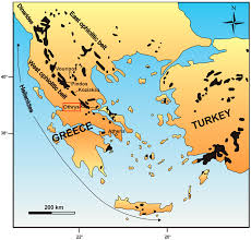 Map Of Greece And Turkey by Minerals Free Full Text Investigation Of Platinum Group