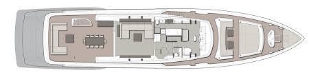 layout of custom line navetta 37 custom line yacht