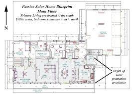 passive solar home design plans southern exposure house plans passive solar home blueprint southern