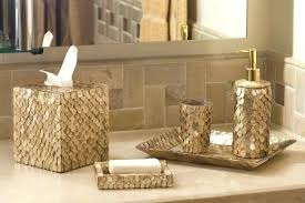 bathroom beautiful bathroom accessories sets luxury gold image