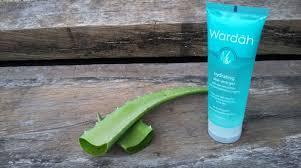 Wardah Gel wardah hydrating aloe vera gel gel multifungsi dengan moeslema