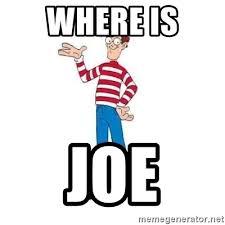 Waldo Meme - where is joe where s waldo meme generator