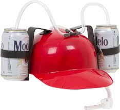 amazon com beer and soda guzzler helmet yellow toys u0026 games