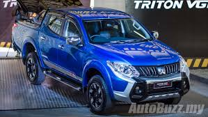 mitsubishi triton 2018 2016 mitsubishi triton launched in malaysia new 2 4l turbo from