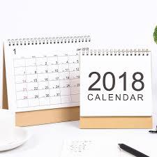 calendrier de bureau photo muji style simple calendrier de bureau 2017 2018 rainlendar