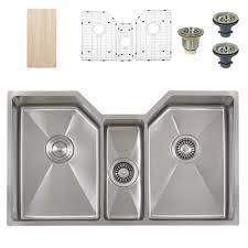 Ticor Kitchen Sinks Ticor Tr1500 Undermount Stainless Bowl Square Kitchen Sink