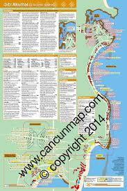 Cancun Map Mapchick Rivera Maya Map And Travel Guide