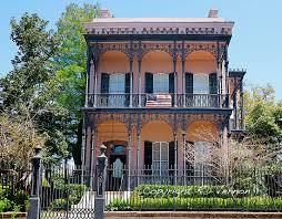 New Orleans Homes by New Orleans Louisiana U2013 Garden District U2013 Homes A Southerly Flow
