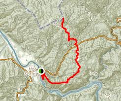 appalachian trail springs to rich mountain lookout