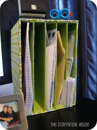 Cheap Desk Organizers by Mail Organizer Diy On The Cheap The Stonybrook House