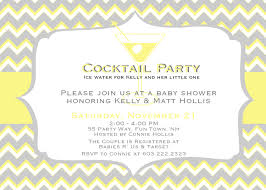baby shower invitation letter sample cute baby shower invitation