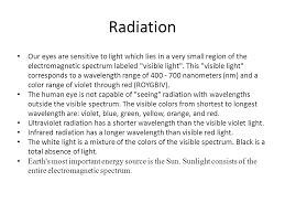 Eyes Are Sensitive To Light Wavelength Frequency Of Color S Ppt Online Download