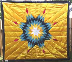Green White And Yellow Flag Star Blankets U2013 Queen Baby Sizes Cree Star Gifts