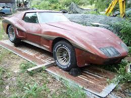 1974 corvette stingray value corvettes on ebay barn find 1974 corvette with greenwood widebody