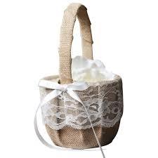wedding baskets top 10 best cheap flower girl baskets