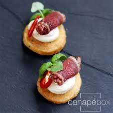 beef canape recipes canapés catering delivery service