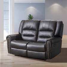2 seater sofa loveseat chaise couch recliner leather living room