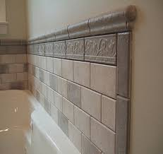 Tile On Wall In Bathroom Tile Around Bathtub Ideas Bathroom Tiled Tub Wall Full