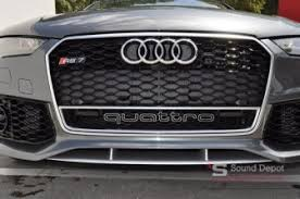 audi rs7 front audi radar and laser protection for gainesville client in rs7