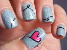 heart nail art nail art designs nail art designs for love nails