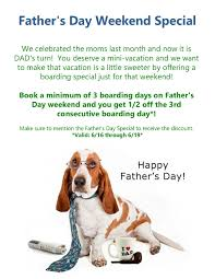 events and specials dogservices