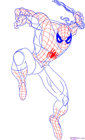 draw spider man spider man step 5 cartooning