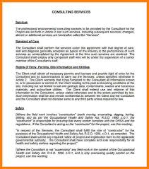 master consulting agreement how to write a good consulting